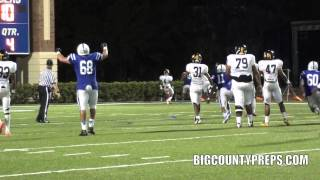 2 BIG CATCHES   Travis Johnson, Jesuit 2013 WR vs Lakewood 2012