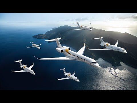 Les avions et les services de calibre mondial de Bombardier