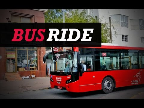 Bus Ride: Experiencing the new way to get around the city