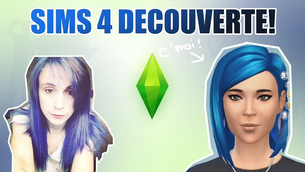 decouverte sims 4 cr ation de personnage youtube. Black Bedroom Furniture Sets. Home Design Ideas