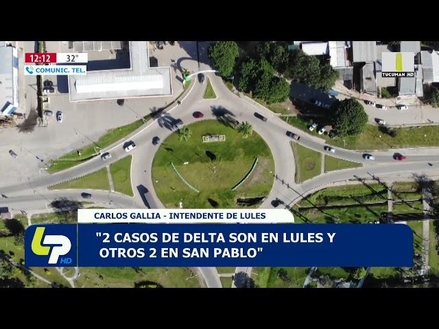 LULES: HAY DOS CASOS DE VARIANTE DELTA