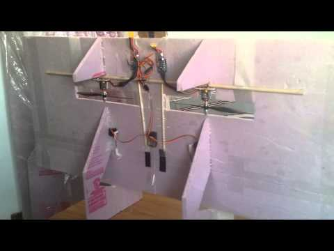 Tips for RC vertical take-off, twin engine
