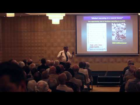 Professor Bob Carter speaks at the IPA's Climate Change: The Facts 2014 book tour