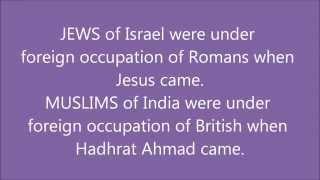 Hazrat Mirza Ghulam Ahmed and Jesus - The Similarities | Ahmadiyya Muslim Community