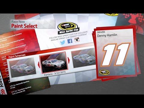 NASCAR '15 Victory Edition - Denny Hamlin @ New Hampshire |