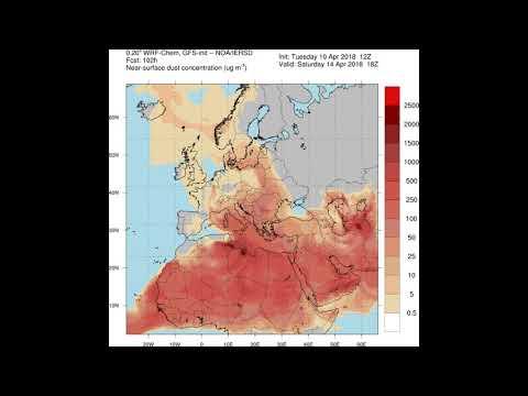 Επιστρέφει ξανά η αφρικανική σκόνη- Ποιες περιοχές θα επηρεαστούν