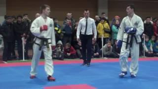 Спарринг мужчины 78 кг Першин Олег(Харьков)-Клименко Андрей(Киев)1
