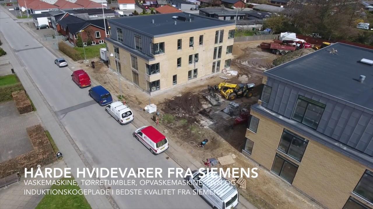 Punkthuse på Færøgade 1-3 i Ikast - YouTube