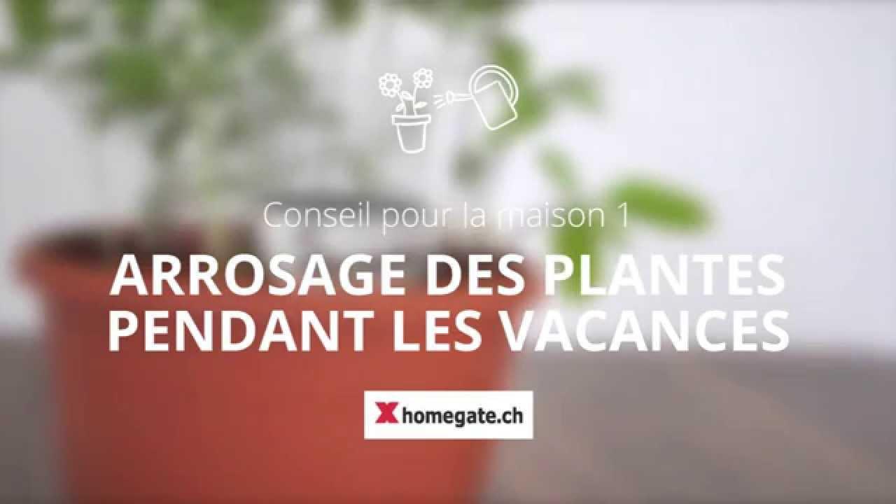 conseil pour la maison 1 arrosage automatique des plantes pendant les vacances youtube. Black Bedroom Furniture Sets. Home Design Ideas