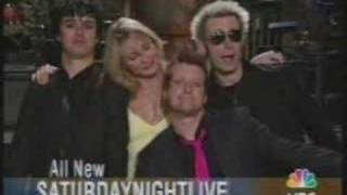 Green Day - Saturday Night Live Commercial