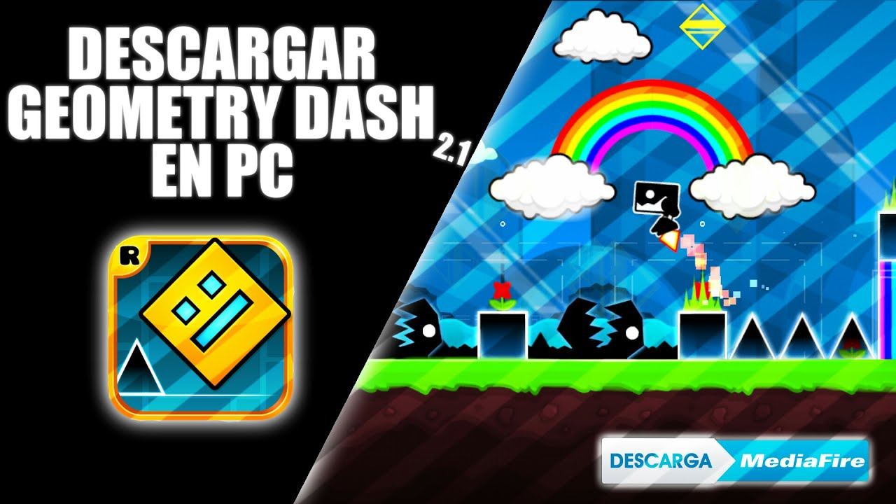 Descargar Geometry Dash 2.1 Full Ultima version Para PC