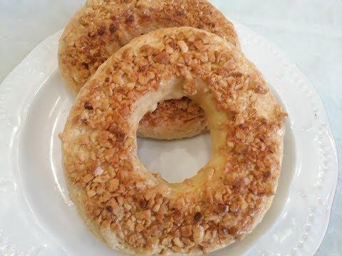 видео: Песочное Пирожное /Кольца с арахисом/.Нежнейшее пирожное с необыкновенным вкусом.