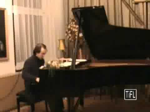 SLKE CICLO FRANZ LISZT: S165 Feuilles d´Album (Liszt) - Carlos Gallardo (piano)