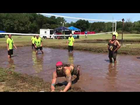 2017 Mud Volleyball Championship at the Comanche Nation Casino-D's Nutz has the victory. (3x)