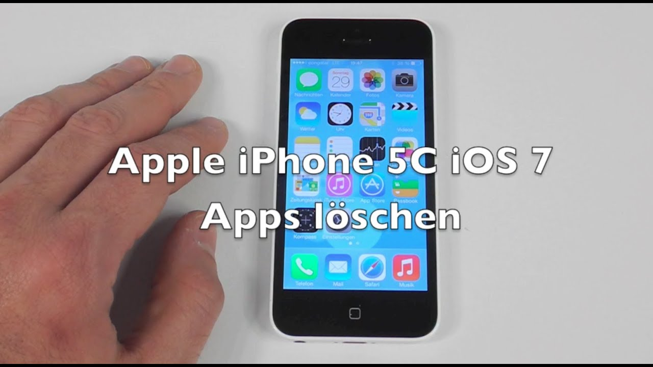 how to upload photos from iphone iphone 5 5c 5s ios 7 anleitung apps l 246 schen 19253