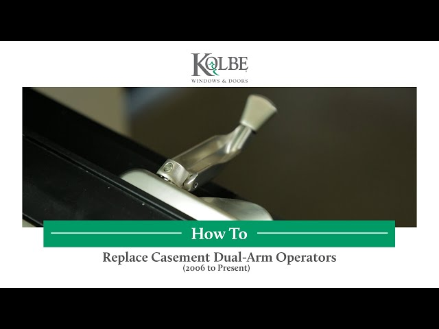 Replace Casement Dual-Arm Operators-2006 to Present