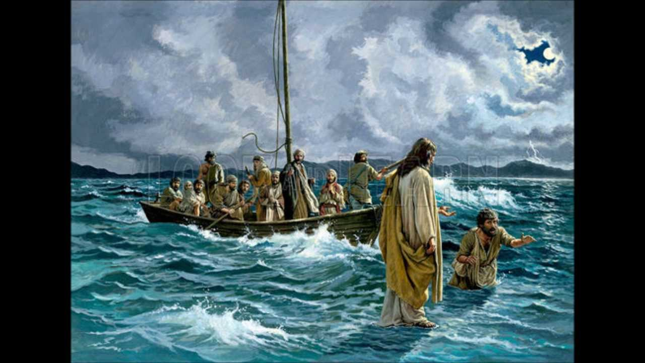 jesus walking on water Jesus walks on the water - immediately jesus made the disciples get into the boat and go on ahead of him to the other side, while he dismissed the crowd after he had dismissed them, he went up on a.
