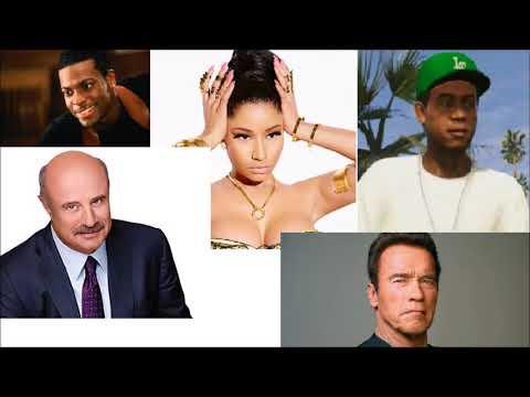 Dr Phil, Nicki Minaj, Lamar Davis, Arnold and Chris Tucker Confuses A HHilton Honors Rep