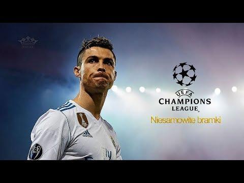 Ronaldo - Najlepsze bramki w Lidze Mistrzów ᴴᴰ (PL komentarz)
