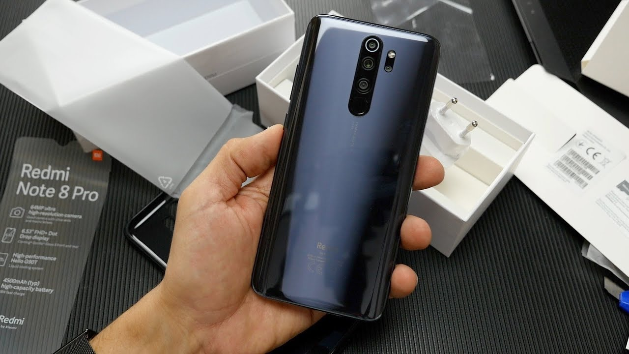 Redmi Note 8 Pro Hands On Techblog Gr Youtube