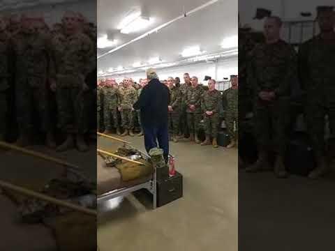 Opening address to Marine recruits