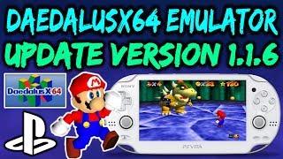 PS Vita/PSP DaedalusX64 v1.1.6! N64 Emulator Sound Improvements!?
