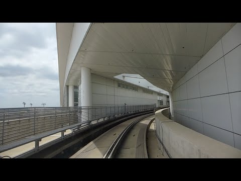 Dallas, Texas - Dallas/Fort Worth International Airport Skylink (Clockwise Loop) HD (2016)