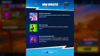 *NEW* Fortnite BIRTHDAY CELEBRATION EVENT! (All Challenges, Free Items, Rewards + MORE)