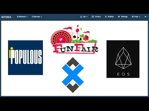 Populous/EOS/FunFair/AdEx - ICO WINNERS ARE GRINNERS