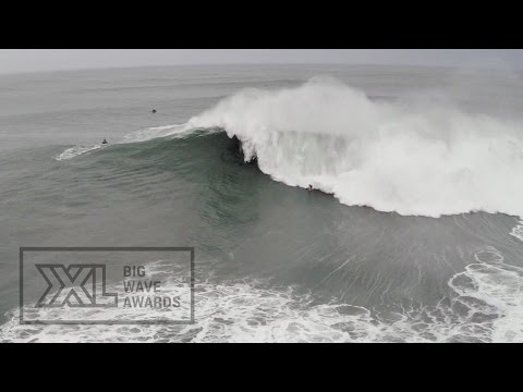 Ross Clarke-Jones at Nazare - 2015 Wipeout of the Year Entry - XXL Big Wave Awards