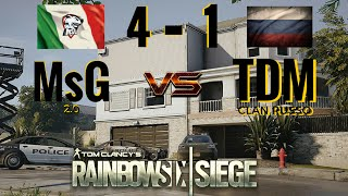 Tom Clancy's Rainbow Six® Siege - ITALIA vs RUSSIA