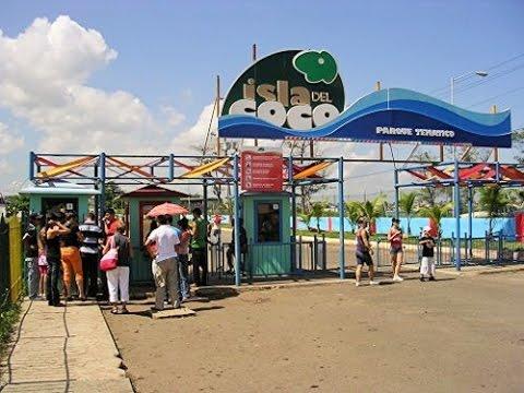 Exploring Isla de Coco (Coney Island) Amusement park in Havana