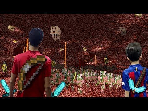 مغامرة في النذر _ لقينا قلعة كبيرة ماين كرافت Minecraft
