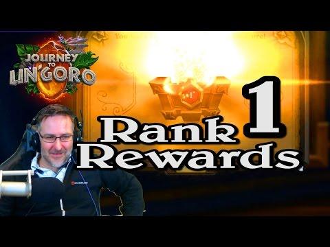 🍀🎲 Rank 1 Rewards ~ Journey to Un'Goro ~ Hearthstone Heroes of Warcraft