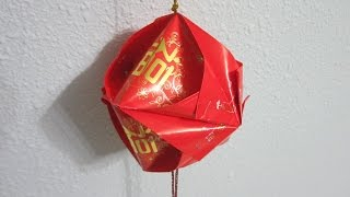 Repeat youtube video CNY TUTORIAL NO. 52 - Very Simple 5-Unit Hongbao Lantern