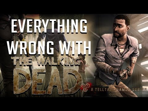 GamingSins: Everything Wrong with The Walking Dead Season 1
