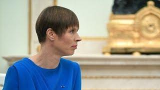Правящая партия выступила против поездки Кальюлайд в Россию на 9 мая