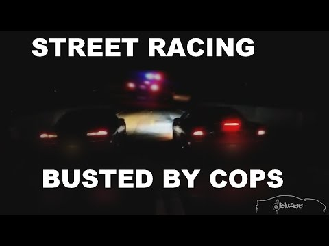 Street Racing BUSTED by Cops