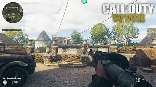 Call of Duty: WWII Multiplayer Beta Weekend 2 Gameplay - NEW LVL CAP, THOMPSON, PS4 BETA CODE