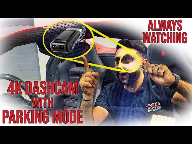 FULL Vehicle Protection   Ferrari 488 Spyder Thinkware U1000 4k DashCam & Battery