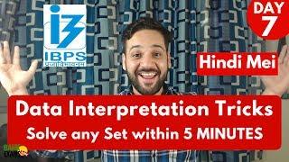 Data Interpretation Tricks - Solve Any Set Within 5 Minutes