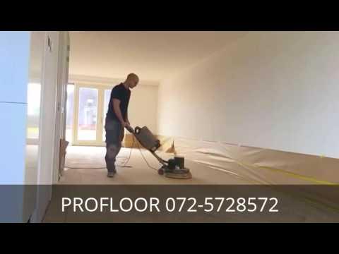 Profloor houten vloeren eiken visgraat vloer polijsten youtube