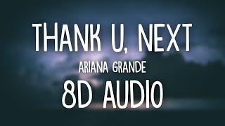 Gambar cover Ariana Grande - thank u, next (8D AUDIO) 🎧