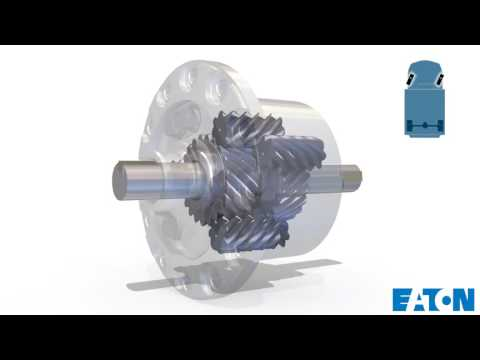 Exploded View - Inside the Eaton TrueTrac Differential
