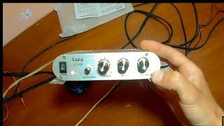 Lepu Lp-808 самый дешевый китайский усилитель. тестируем на советских 25ас-309 и 15ас-109