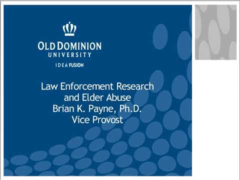 The Role of Law Enforcement in Elder Abuse Cases