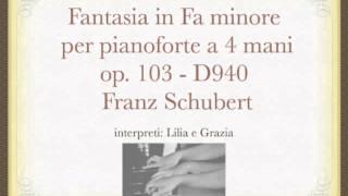 Fantasia in Fa minore op. 103 di Schubert