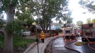 Colorado Springs House Fire Displaces Nine People, Two Dogs