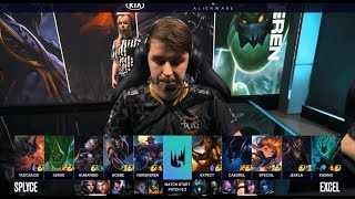 SPY (Humanoid Orianna) VS XL (Special Zoe) Highlights - 2019 LEC Spring W5D2