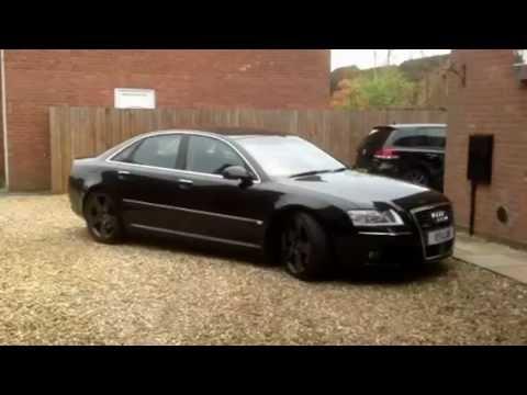 Audi A8 Lowered New Website Wwwairrideloweringcom Youtube